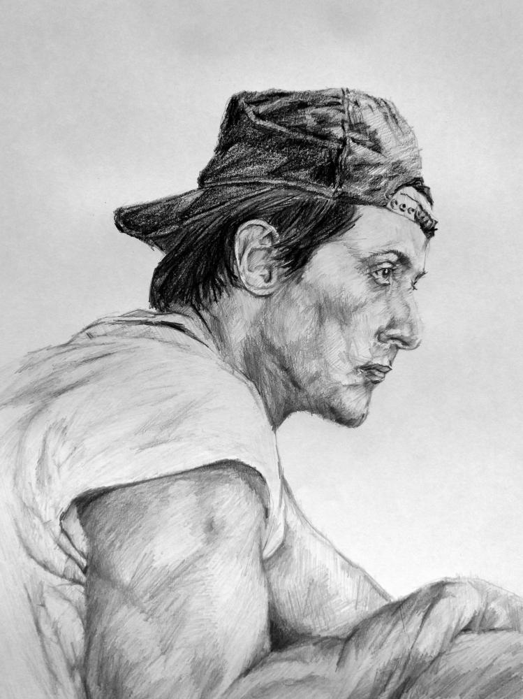 Sylvester Stallone by linshyhchyang